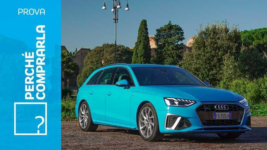 Audi A4 Avant (2019), perché comprarla e perché no