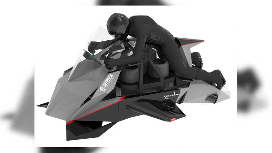 JetPack's Flying Motorcycle Prototype Is Now Fully Funded