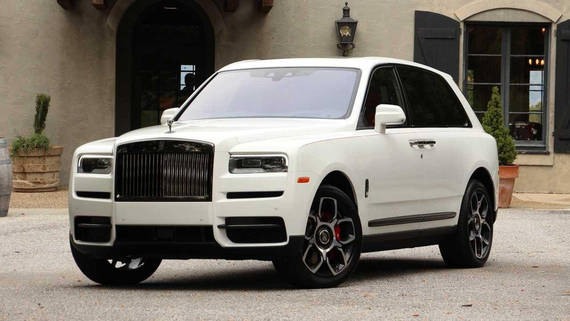 2020 Rolls Royce Cullinan Black Badge First Drive Dark Horse