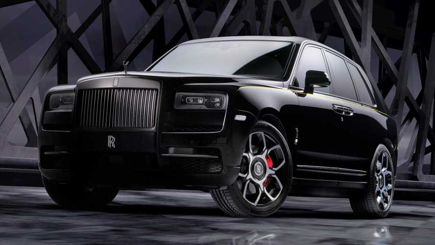 "Rolls-Royce Black Badge Cullinan: ""King of the night"""