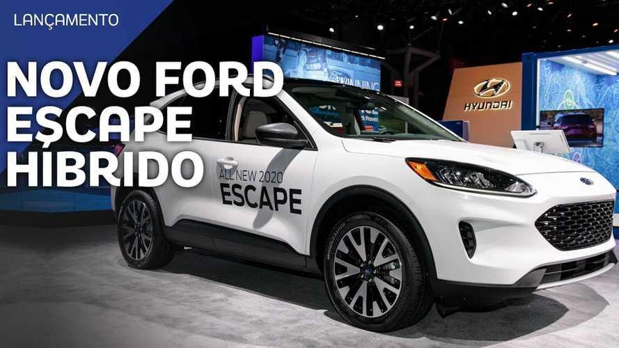 Vídeo: Novo Escape, o próximo SUV híbrido da Ford no Brasil?