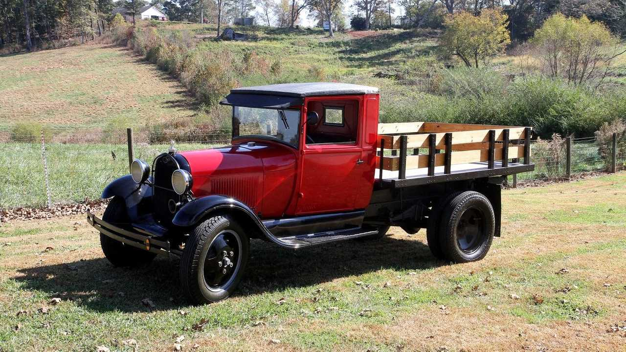 Haul Some With A 1930 Ford Model AA Truck