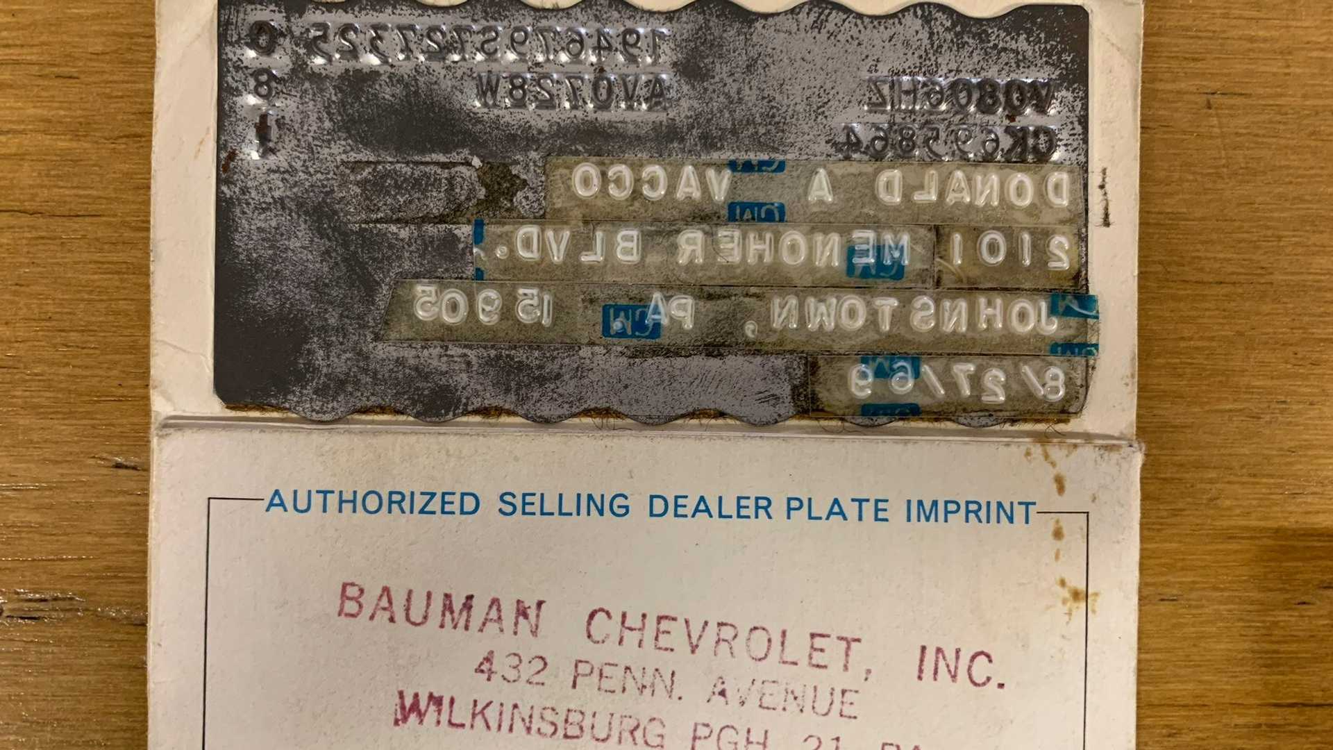 "[""Own A 1969 Chevy Corvette With Only 11K Original  Miles""]"