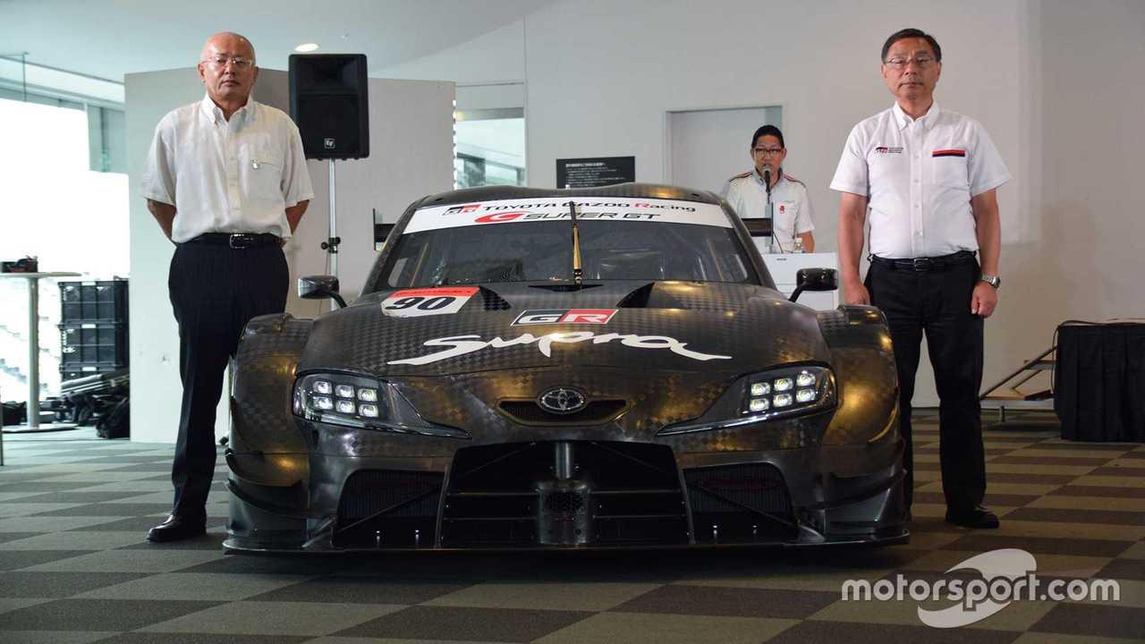 Toyota Supra Super GT car