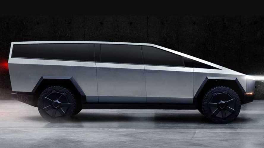 Посмотрите на Tesla Cybertruck в обличиях универсала и фургона