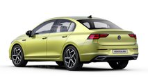Volkswagen Golf 8 sedan rendering