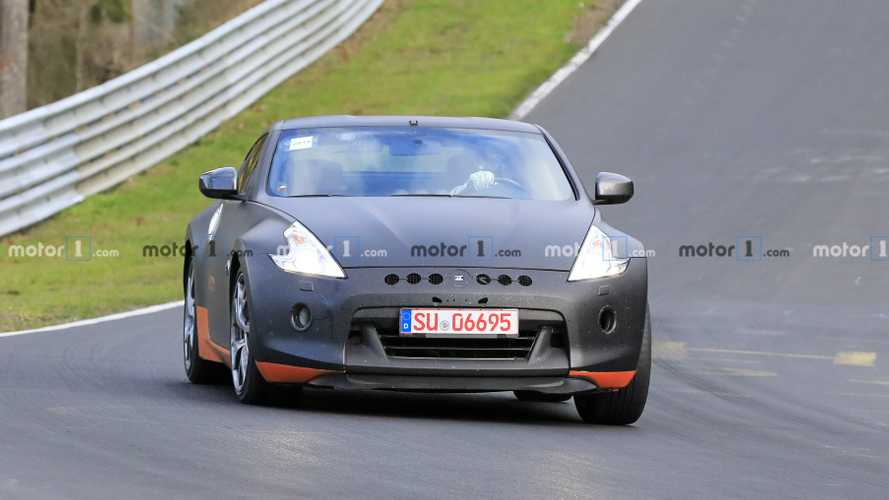 Nissan 370Z Test Mule Spy Photos