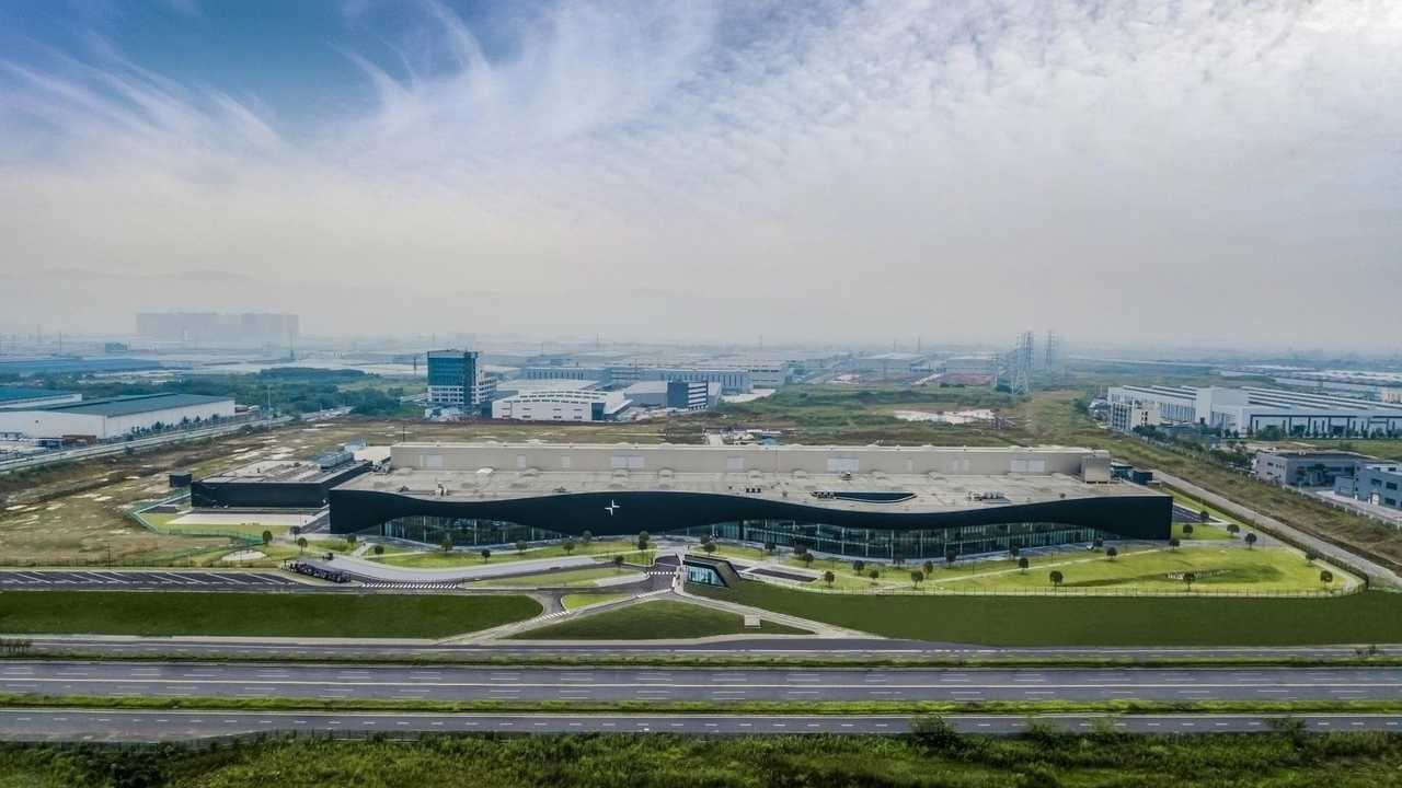 Polestar Production Centre in China