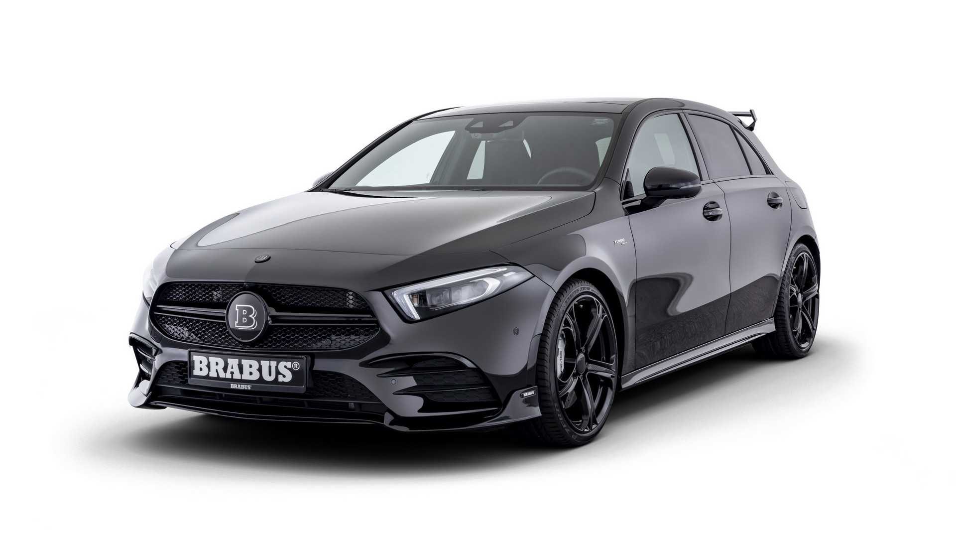 Mercedes-AMG A35 by Brabus gets closer to A45 levels of power