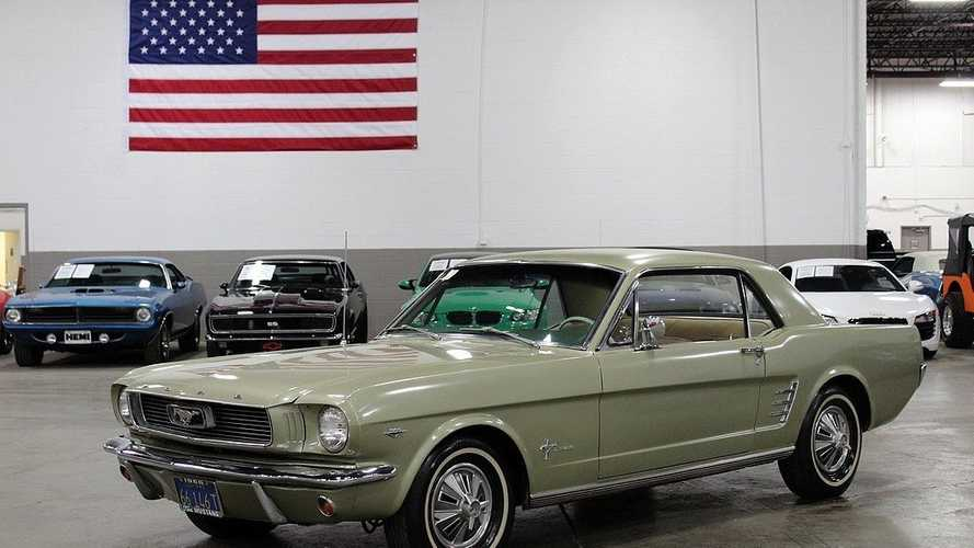 1966 'All Original' Ford Mustang Can Be Yours For Under $20K