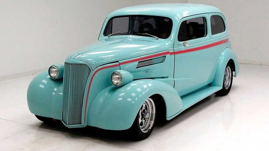 Show Off In A Rare 1937 Chevrolet Master Deluxe Slant Back