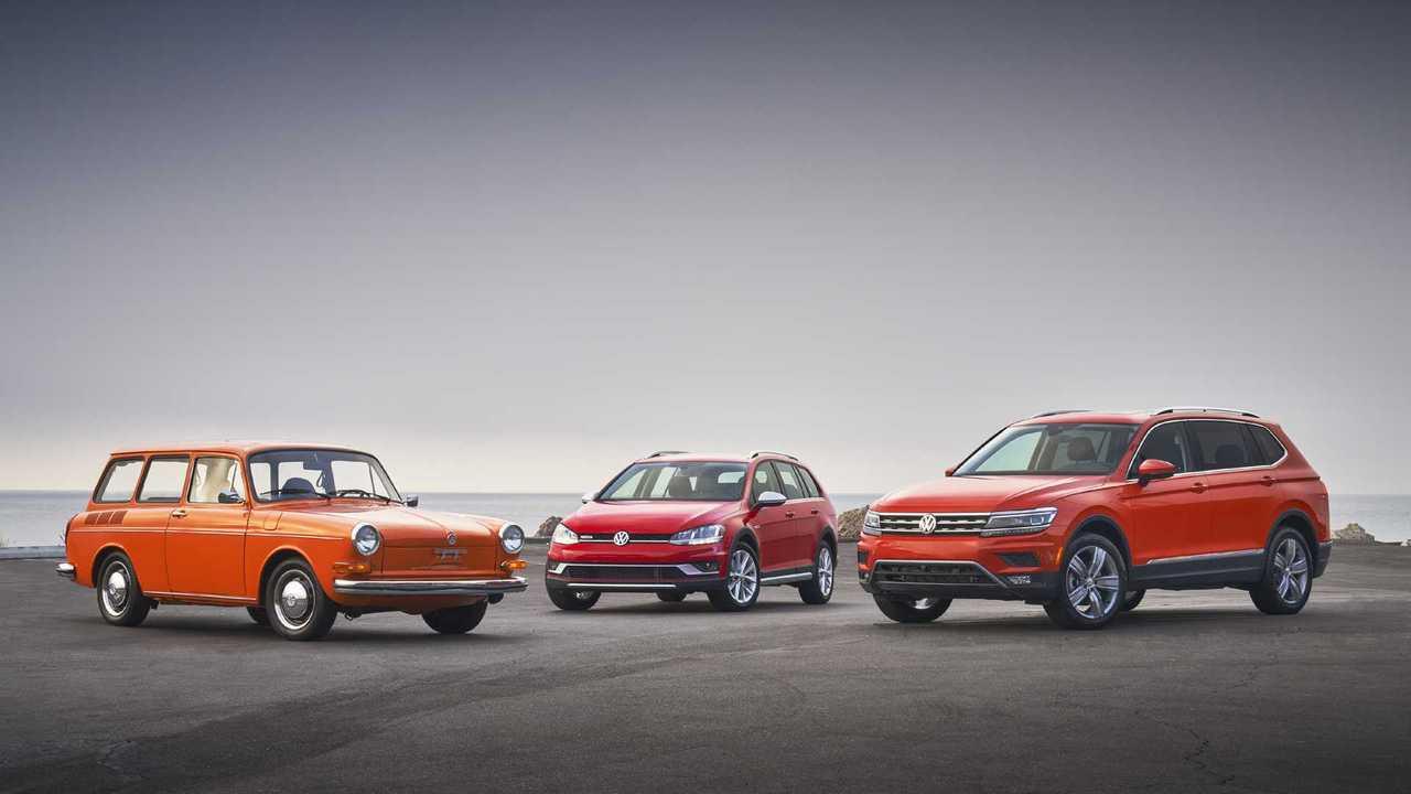 Evolution of Volkswagen\'s compact utility vehicles