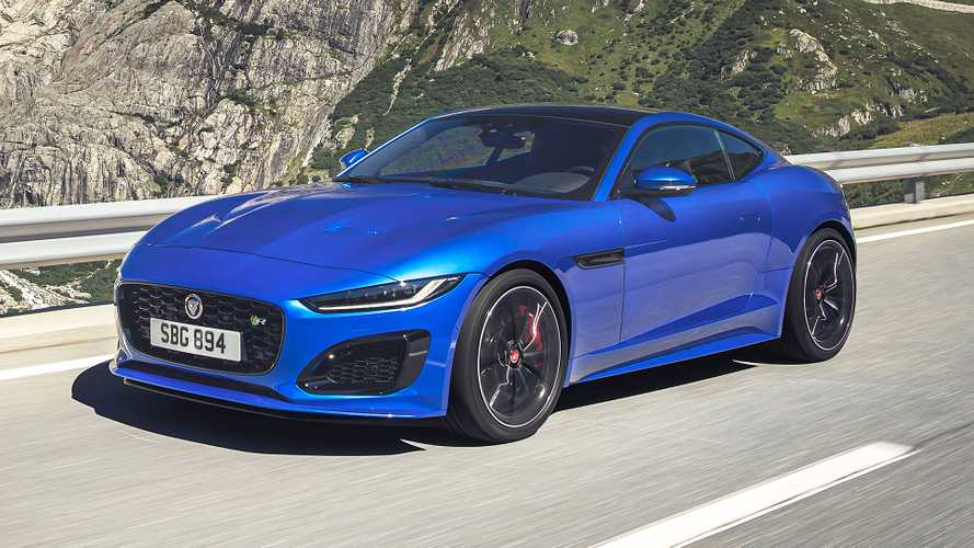 2021 Jaguar F-Type Debuts With Smoother Shape, New V8 Option