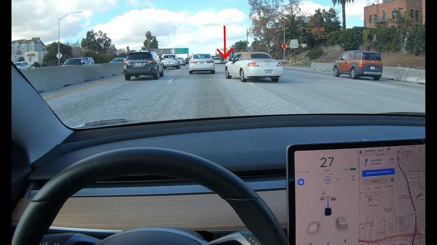 Car Just About To Cut You Off? No Worries, Tesla Detects That