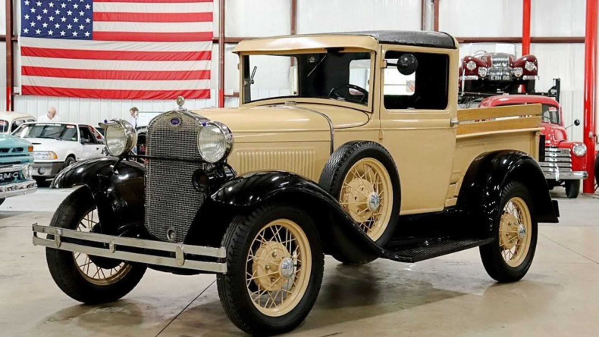 """[""""Own A 1931 Ford Model A Pickup For Well Under $20K""""]"""