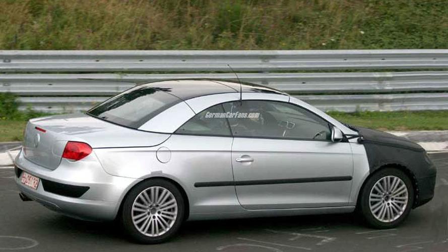 2006 VW Cabriolet Eos Spy Photos
