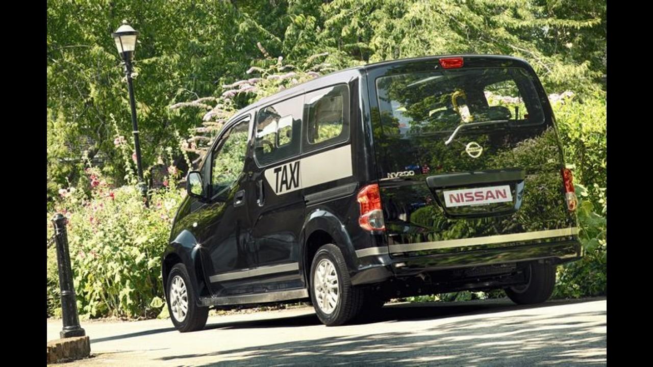 "Nissan NV200 será o novo táxi ""oficial"" de Londres"