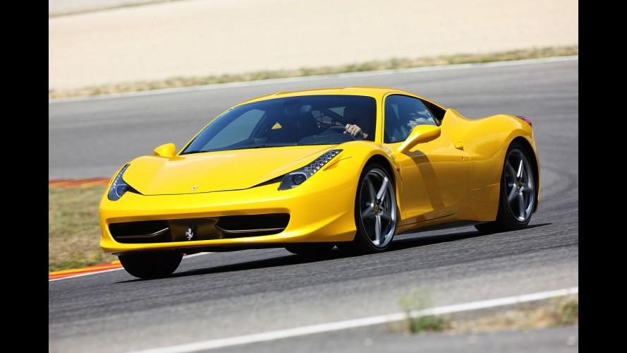 Ferrari usará inédito sistema de teto rígido retrátil na 458 Spider