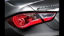 Já? Hyundai Sonata 2012 recebe retoques visuais na Coréia do Sul