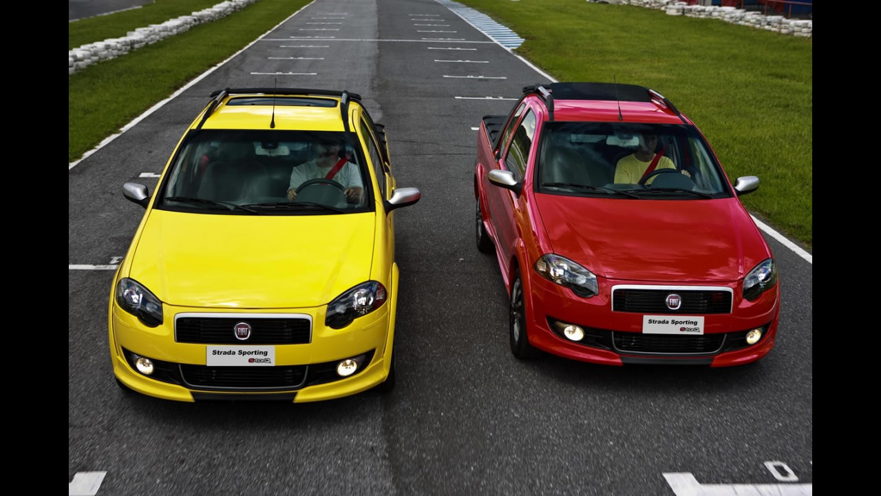 PICAPES PEQUENAS, resultados de julho: Melhores resultados de 2011 para Strada e Courier