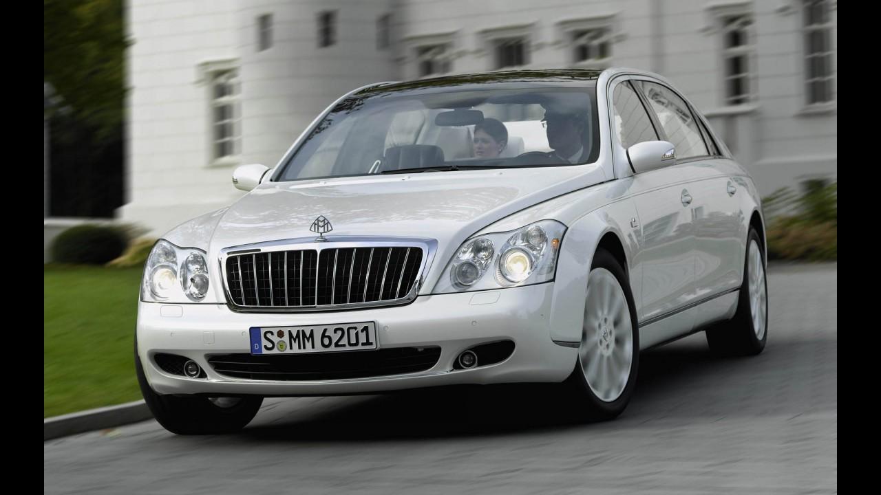 Grupo Daimler deverá extinguir marca de luxo Maybach em 2013