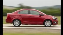 Flagra: Novo Chevrolet Sonic Sedan rodando em testes no Brasil