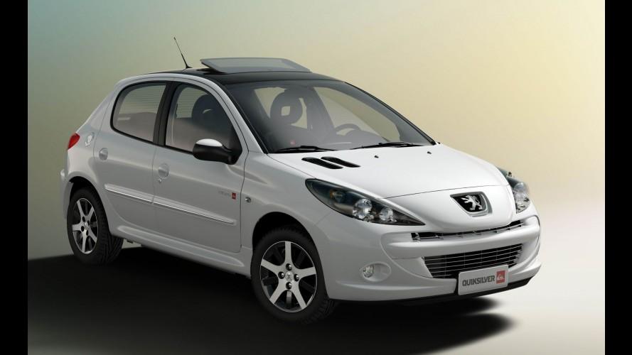 Peugeot 207 série especial Quiksilver será lançado novamente, agora com teto solar