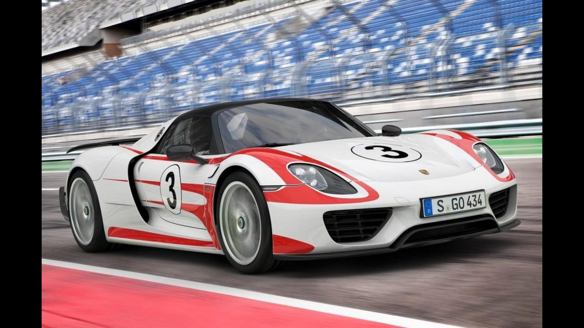 Galeria Porsche 918 Spyder E Revelado Por Completo Veja Detalhes
