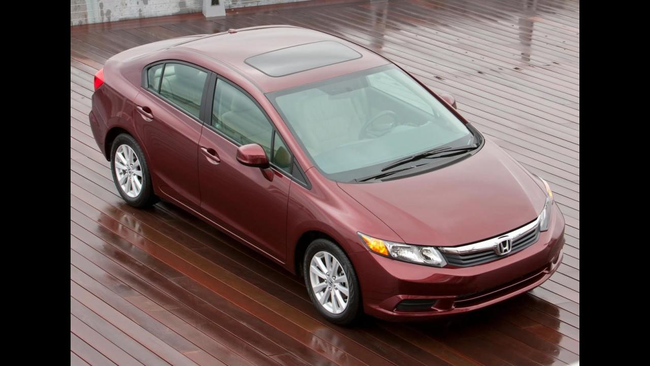 CANADÁ, setembro: Novo Civic é o automóvel mais vendido