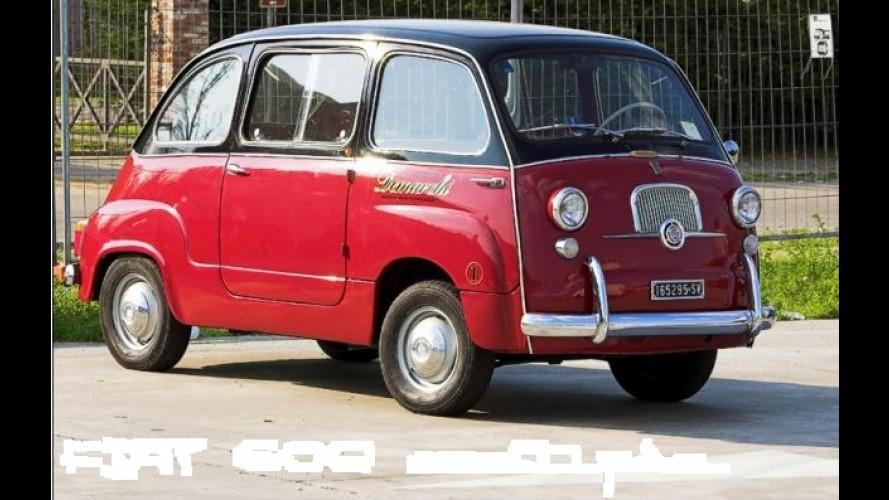 Fiat pode apresentar 500 Multipla no Salão de Genebra de 2012
