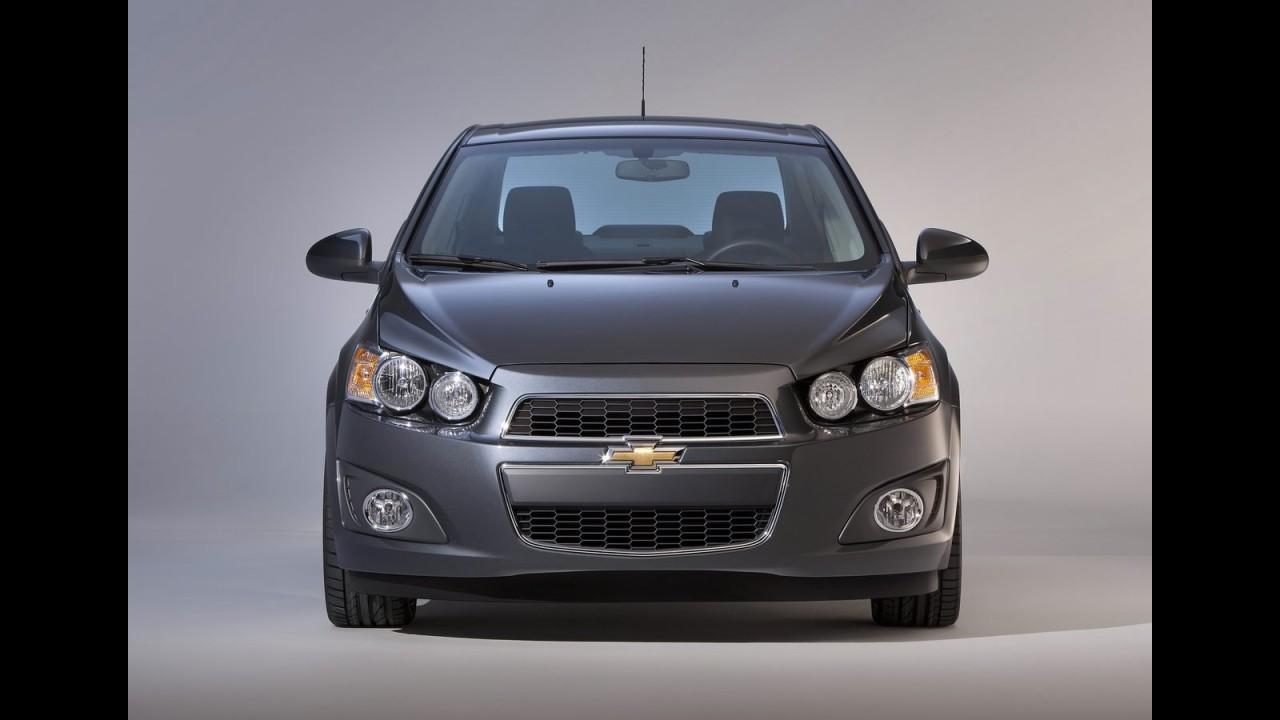 Detroit: Chevrolet Sonic Sedan 2012