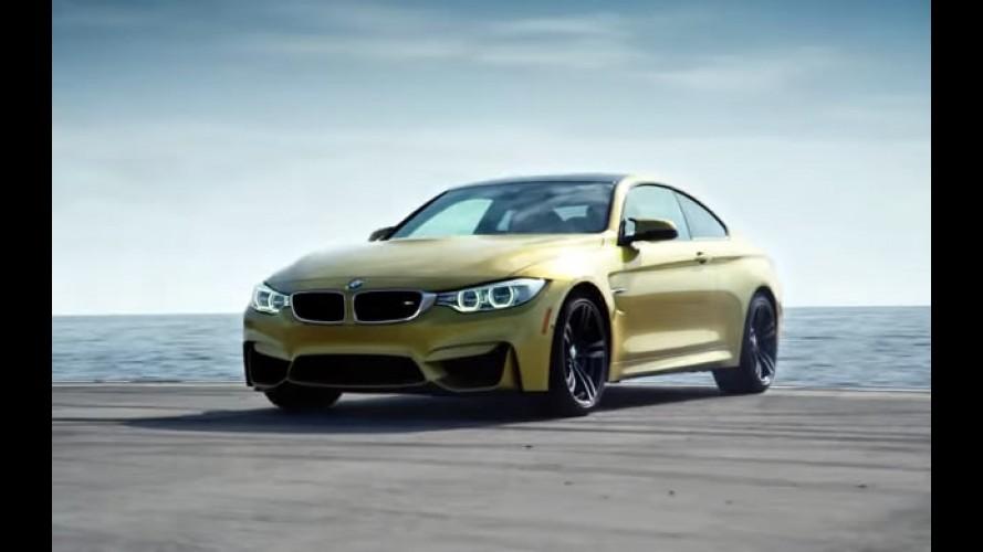 Vídeo: BMW M4 faz drift extremo em um porta-aviões