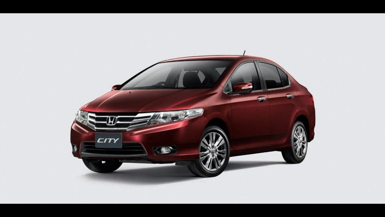 Honda já prepara reestilização para o sedã City no Brasil
