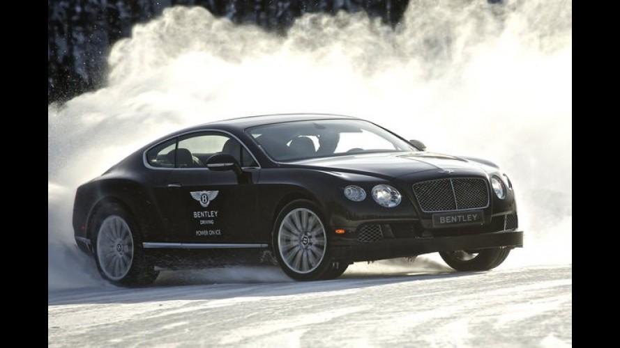 """Bentley vai promover """"driving experience"""" próximo ao polo norte em 2014"""