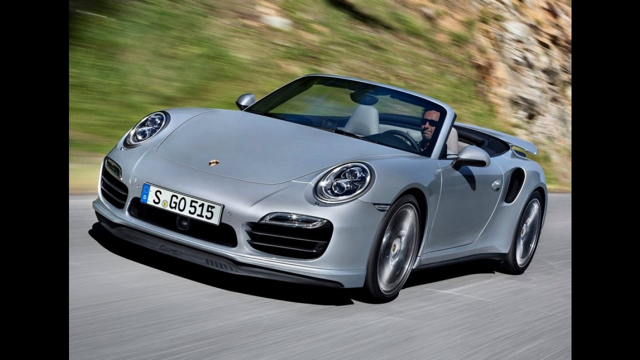 Porsche revela 911 Cabriolet Turbo - potência chega a 560 cv