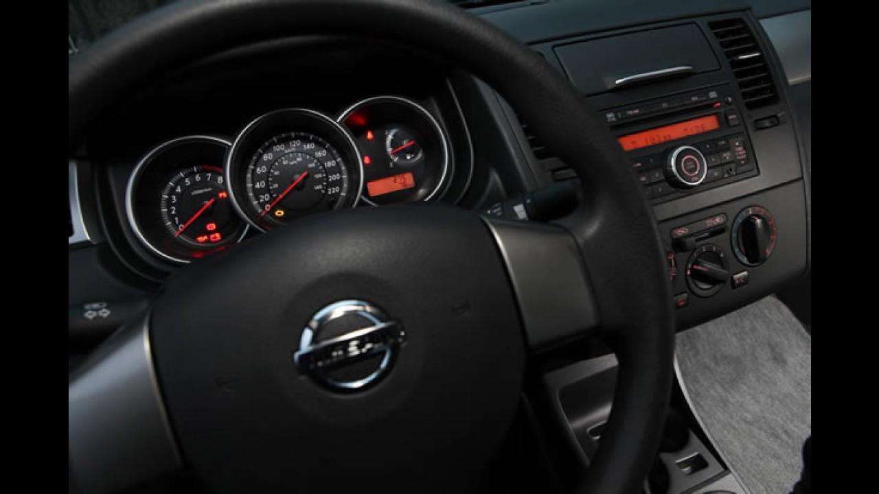 Nissan lança Tiida Sedan no Brasil por R$ 44.500