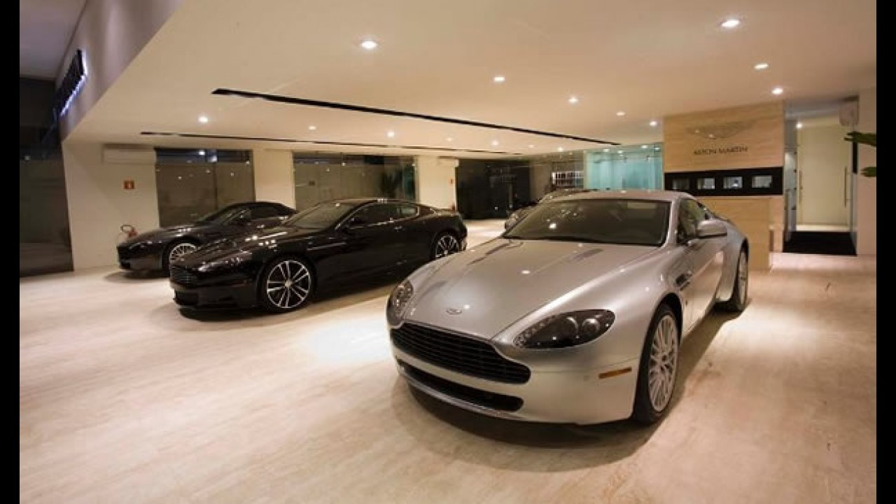 Aston Martin já tem loja e site oficiais no Brasil