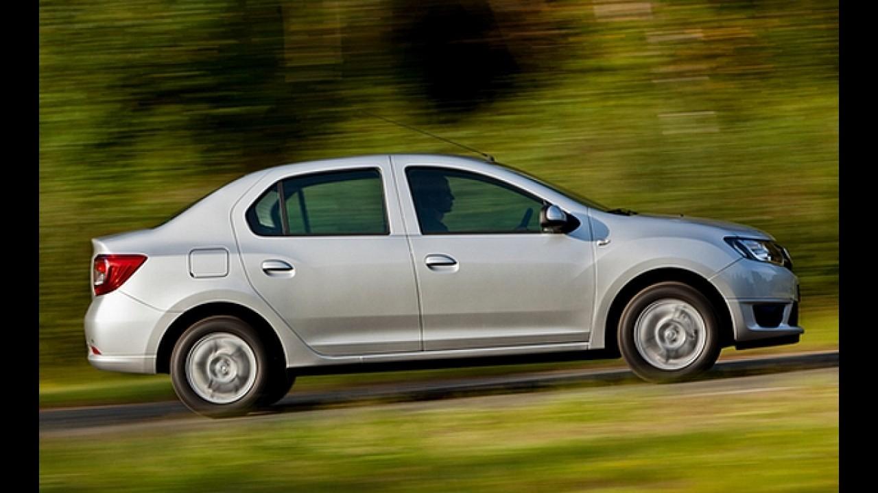Urgente: Surgem as primeiras imagens oficiais do novo Dacia Logan