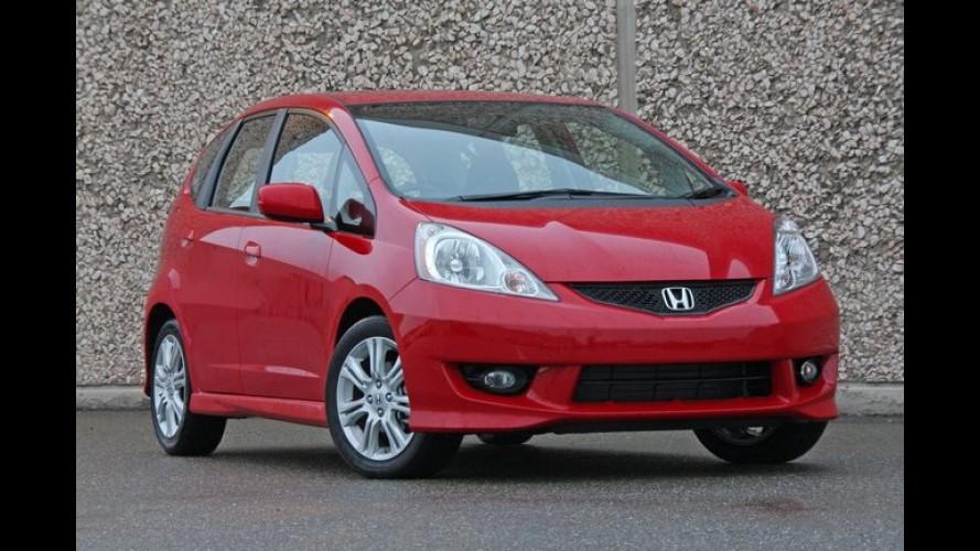 Honda Fit produzido na China é exportado para o Canadá