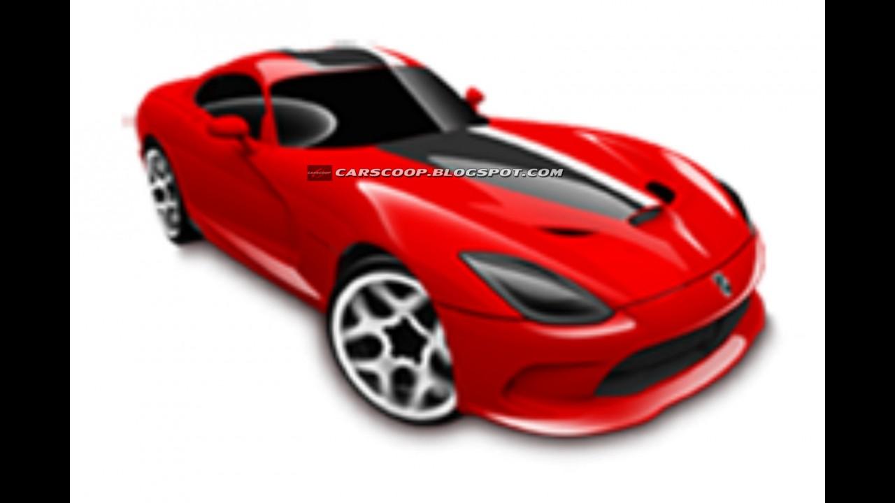 Novo SRT Viper: Vaza a primeira imagem da nova geração do esportivo