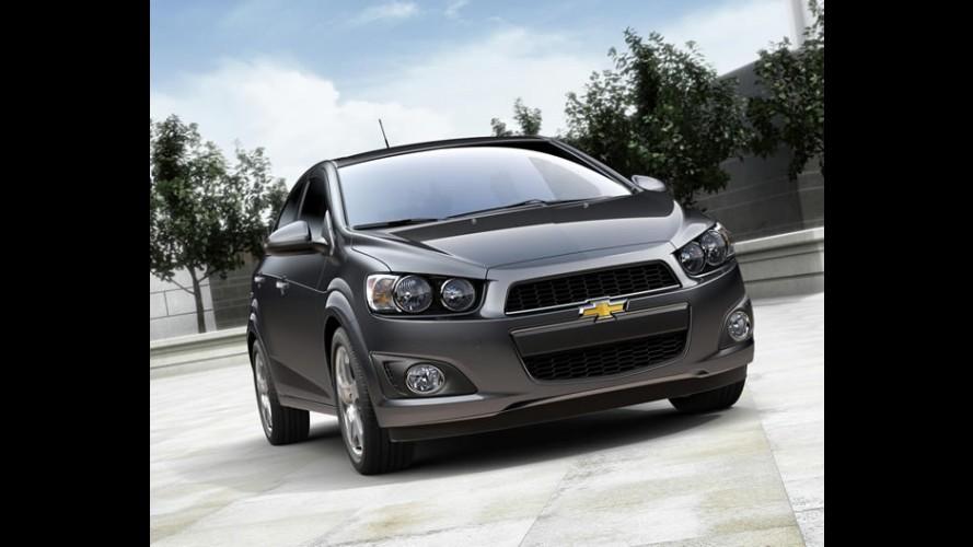 Chevrolet Sonic é eleito o compacto mais seguro na Europa
