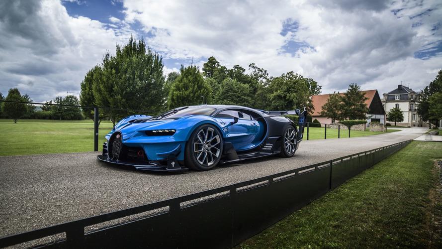 Les Bugatti Chiron et Vision Gran Turismo pour la première fois réunies