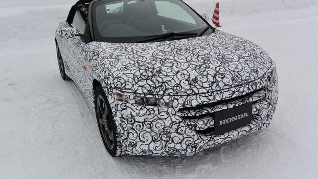Honda S660 production prototype / response.jp