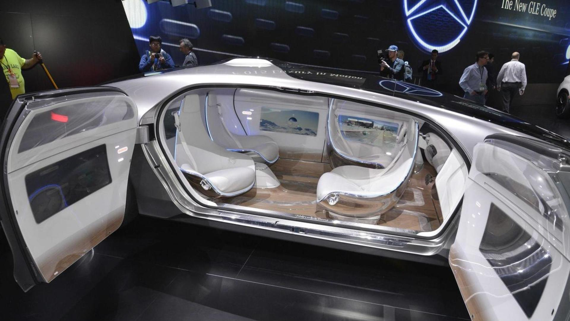 Mercedes F 015 >> Mercedes Benz F 015 Luxury In Motion Concept Shows Up In Detroit