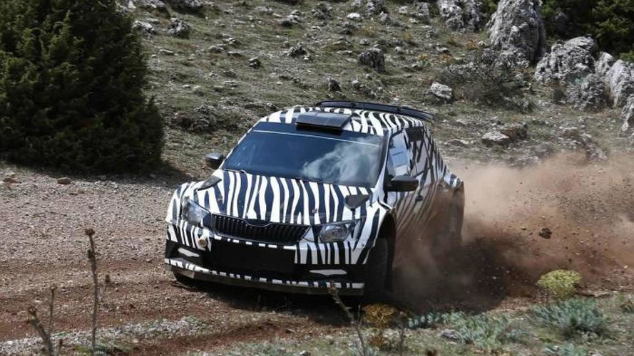 Skoda Fabia R5 previewed ahead of 2015 rally debut