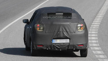 Suzuki five-door hatchback prototype spy photo