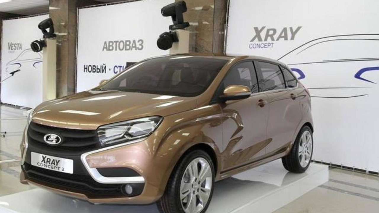 Lada live at the 2014 Moscow Motor Show