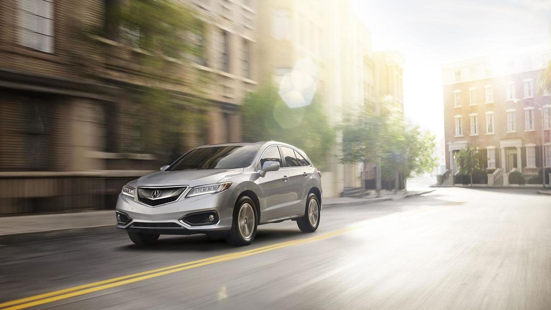 2016 Acura RDX arrives in Chicago with revised styling ...