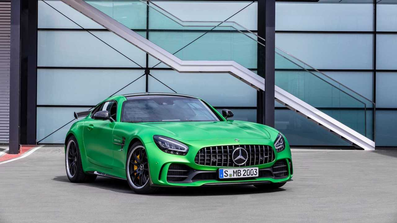 Mercedes-AMG GT Facelift (Coupé und Roadster)