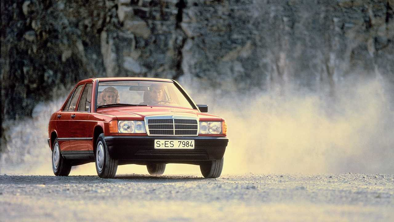 Mercedes-Benz 190 (1982 – 1993); 20 engines, displacement from 1.8 to 3.2 liters